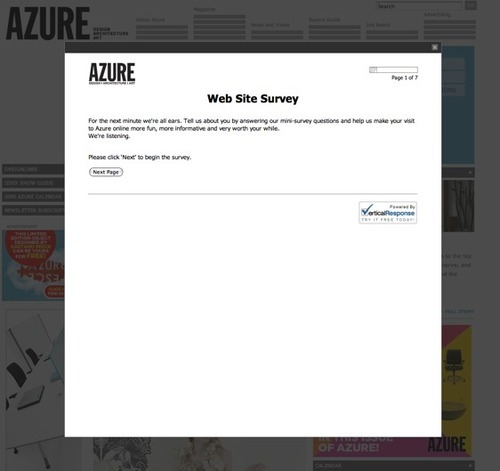 Azure survey
