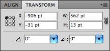 Transform window