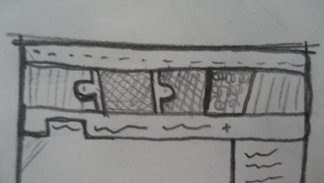 Sketch of multi-line date selection
