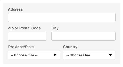 Putting postal code before city