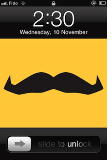 Say Yeah makes design for Movember