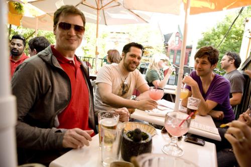 Say Yeah enjoyed margaritas on Patio Friday