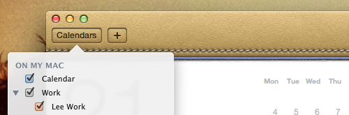 New OSX Lion features
