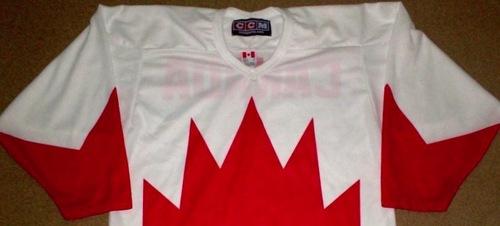 Team Canada jersey design