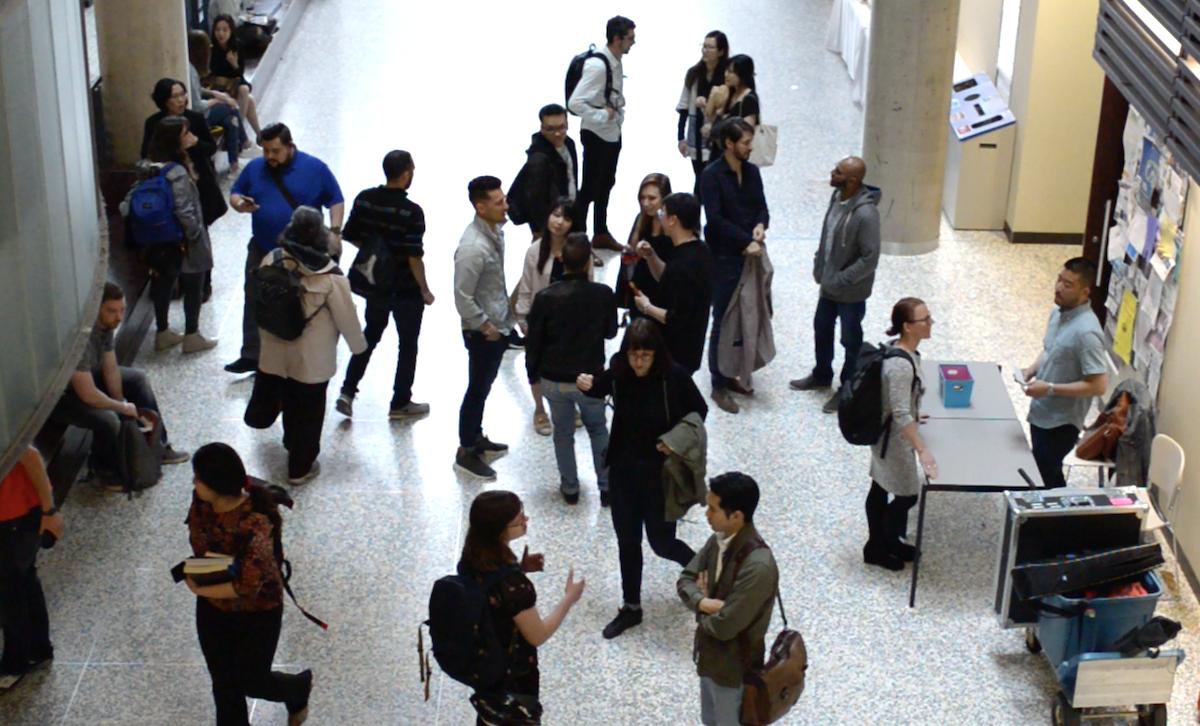 Students and digital professionals at Spotlight UX.