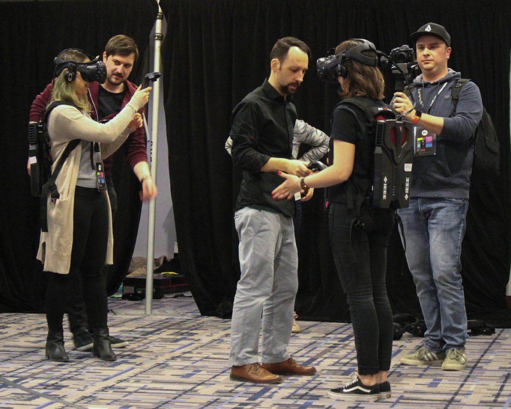 Virtual Reality room at FITC 2018