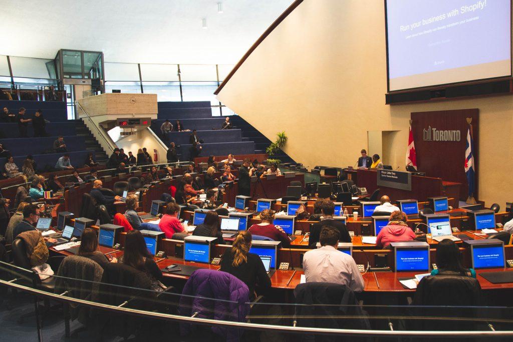 Digital Main Street Forum 2018 at Toronto's City Hall