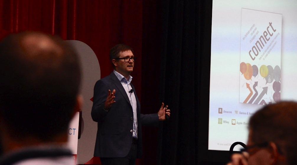 Lars Petersen talking digital experiences at DX3 2017