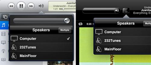 Itunes UI example